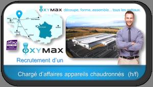 Recrutement d'un Chargé d'affaires appareils chaudronnés pour OXYMAX