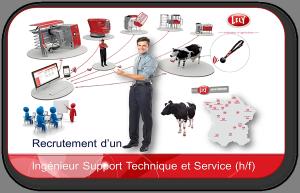 Recrutement d'un Ingénieur Support Technique et Services pour Lely France (h/f)