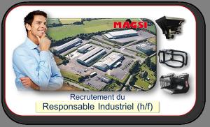 Recrutement du Responsable Industriel Magsi