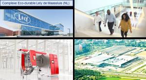 Complexe Éco-durable Lely de Maassluis (Pays-Bas)