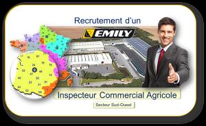 Recrutement d'un Inspecteur Commercial Agricole pour EMILY SA
