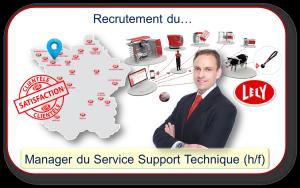 Recrutement du Manager du Service Support Technique de Lely France