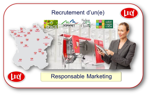 Recrutement d'un(e) Responsable Marketing pour Lely France