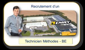 Technicien Bureau des Méthode - BE Emily SA